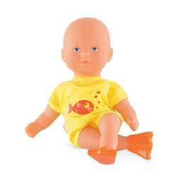 Corolle Mon Premier Poupon Mini Bath Yellow Toy Baby Doll