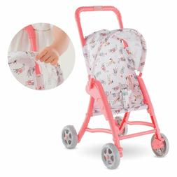 "Corolle - Mon Premier Poupon Stroller for 12"" Baby Dolls New"
