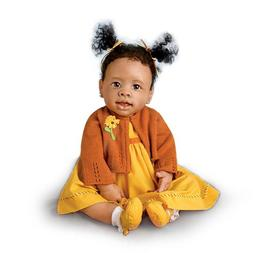 Musical Religious African-American Baby Doll: Imani by Ashto