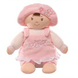 Gund My First Dolly Brunette Stuffed Doll, 13 inches