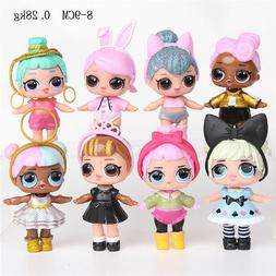 NEW 8Pcs LOT LoL Doll Baby Tear Open Surprise Series Kids To