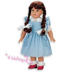New-adorable Wizard of Oz  Dorthy type dress fits American G