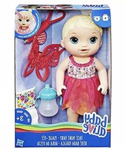 new baby alive face paint fairy doll