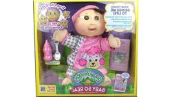 NEW! Cabbage Patch Kids Baby So Real 14 inch Doll - Brunette