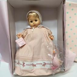 "New In Box Madame Alexander 14"" Heirloom Lifelike Baby Pussy"