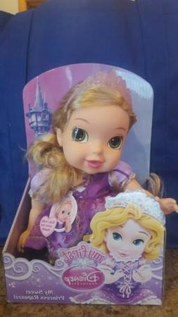 New My First DISNEY PRINCESS Baby Deluxe MY SWEET RAPUNZEL D