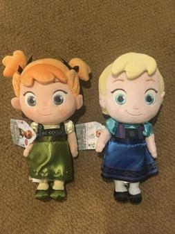 New With Tags Disney Store Baby Toddler Elsa & Anna Frozen P