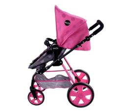 new1 iCoo 3-in-1 Doll Stroller For baby dolls up to 18in ope