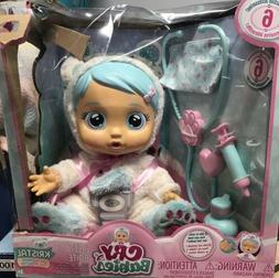NIB IMC Toys Cry Babies Kristal Doll Gets Sick Feels Btr Int