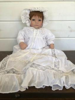 "NIB Adora Name Your Own Baby Doll 18"" Auburn Hair/Blue Eyes"