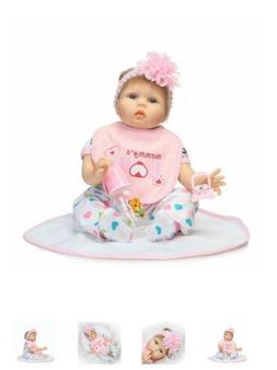 "NPK Collection 22"" Handmade Reborn Baby Newborn Lifelike Sil"