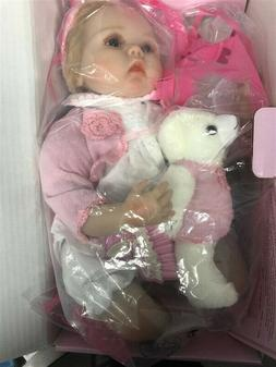 "NPK Collection Doll Pinky Reborn 19"""