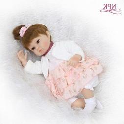 Reborn Baby Doll Soft Silicone Newborn Happy Baby Boy That L