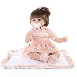 Connoworld NPK Reborn Baby Dolls Full Body 43cm Silicone Kid