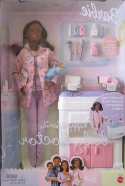 nrfb barbie doll collectible happy