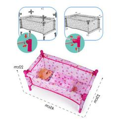 Nursery Room Furniture Decor - ABS Baby Doll Crib Bed Kids P