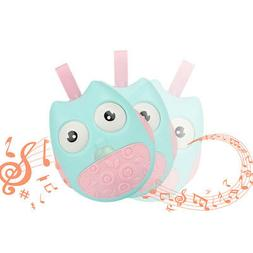 Owl Tumbler Rattle Toy Baby Roly-poly Toddler Stroller Infan