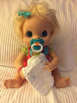 Pacifier & Diapers For My Baby Alive Doll Accessories Only