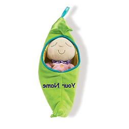 Personalized Manhattan Toy Snuggle Sweet Pea Pod