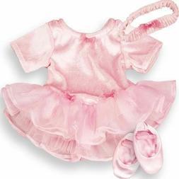 Pink Leotard Ballet Tutu Set for American Girl 18 inch or Ba