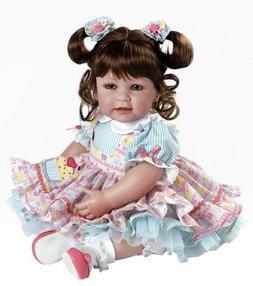 play doll cake hair eyes