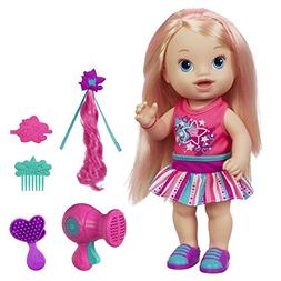 Baby Alive Play N Style Christina Doll Blonde Toy New