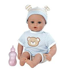 "Adora PlayTime Baby Beary Blue Vinyl 13"" Boy Weighted Washab"