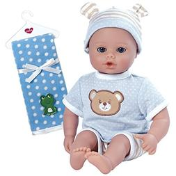 Adora PlayTime Beary Blue Washable Soft Cuddly Body Play Bab