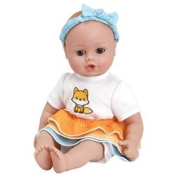 playtime frilly fox doll