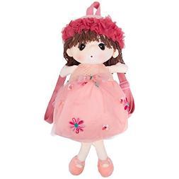 Toys for US Baby Kids Plush Cute Cartoon Girl Lovely Doll Ba