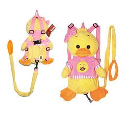 Plush Duck Safety Anti lost Leash Harness Backpack Doll Toy