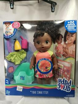 Baby Alive Potty Dance Baby: Talking Baby Doll with Black Cu