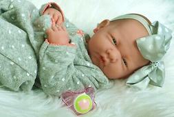 Preemie Berenguer La Newborn Doll + Extras Accessories Lifel