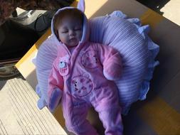 """Premiee Baby Dolls Soft Cloth Body 16"""" Reborn Dolls Girl Rea"""