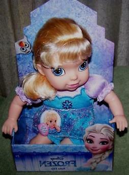 "Disney Princess FROZEN Baby Elsa 10"" Doll  New"