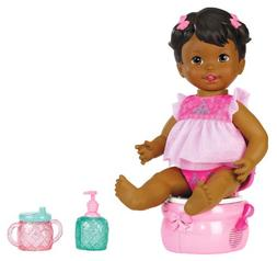 Little Mommy Princess and The Potty African-American Doll