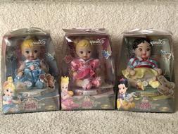Disney Princess Royal Nursery Porcelain Doll BABY SNOW WHITE