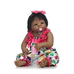 TERABITHIA 22 inch Rarely African American Reborn Baby Doll,