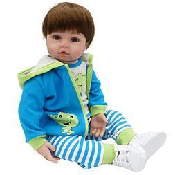 Seedollia Real Life Reborn Baby Dolls Boy Toddler Cotton Bod