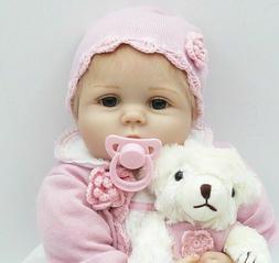 22inch Reborn Baby Dolls Realistic Cute Newborn Doll Cleanre