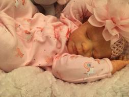 realborn reborn baby dolls Emmy Magnetic Pacifier COA