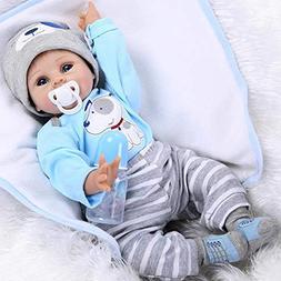 NPK Realistic Babies Reborn Baby Doll Gift Set Ensemble Cute
