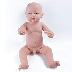 HiPlay Realistic Baby Doll Lifelike Silicone Vinyl Naked Boy