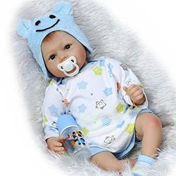 ZIYIUI 22inches 55cm Realistic Doll Newborn Baby Doll Reborn