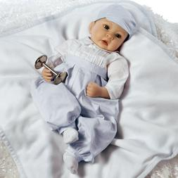 Realistic Lifelike Prince George Royal Baby Doll, 22 inch in