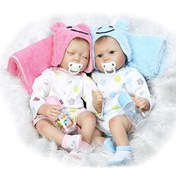 """MDIDEDOLL MaiDe Reborn Baby Dolls 22"""" Cute Realistic Soft Si"""