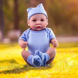 Realistic Reborn Baby Dolls Boy Full Vinyl Silicone Lifelike