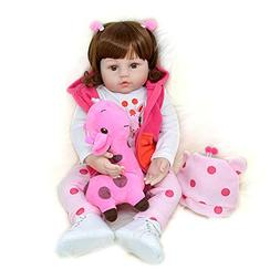 Yesteria Realistic Reborn Toddler Baby Doll Girl Silicone Vi