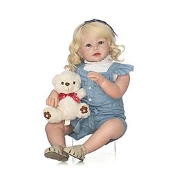 NPK Realistic Reborn Toddler Dolls Girl Silicone Toddlers Pr