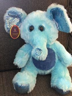 REALLY CUTE BLUE ELEPHANT PLUSH STUFFED ANIMAL DOLL CALPLUSH